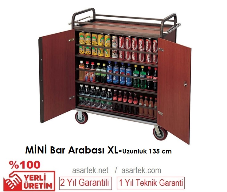 Otel Mini Bar Arabası XL
