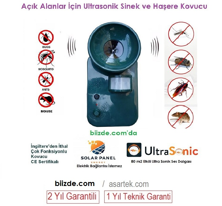 Ultrasonik Sinek ve Sivrisinek Kovucu A2